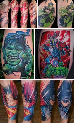 Superhero art is no longer confined to comic books and graphic novels. Breaking free from their two dimensional boundaries, superheroes are now the stars of their own art exhibits. (Images via tattoolettering, damncoolpictures, damncoolpictures, buzzfeed, damncoolpictures) Superheroes of one's youth can have a huge influence. Whether the morality tales make ethics stronger, or the powers [...]