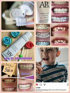 ฟนไมขาวสดใสตองใชยาสฟนAp24 ยาสฟนสตรฟนขาว ยาสฟน เอพ  24 ไวทเทนนง ฟลออไรด (AP-24 White Fluoride Toothpaste) ผลตภณฑดแลฟนของคณ รายละเอยด ยาสฟน เอพ  24 ไวทเทนนง ฟลออไรด (AP-24 White Fluoride Toothpaste) ขนาด 110 กร Nuskin Toothpaste, Ap 24 Whitening Toothpaste, Nu Skin, Galvanic Body Spa, Beautiful Smile, Skin Care, Day, Health, Beauty Products