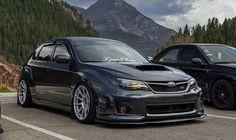 Subaru performance parts started to appear in many automotive specialty stores. Subaru Wrx Hatchback, Subaru Impreza Sti, Jdm Subaru, Subaru Cars, Wrx Sti, Jdm Cars, 4x4, Pretty Cars, Car Mods
