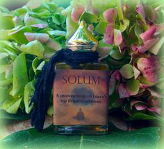 Solum Grounding Perfume  For balancing and finding your Center  by TheSageGoddess, $35.00
