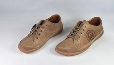Colección Panama Jack. Zapato sport de piel nobuck con cordón - Taupe. (home).