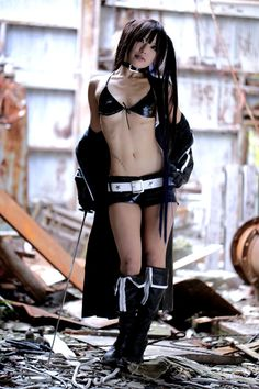 Black Rock Shooter cosplay