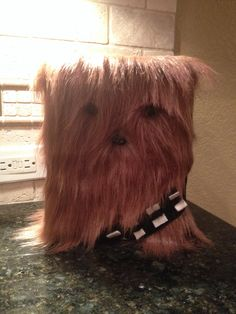 Chewbacca Valentine's Day box - made this for Anderson this year. He loves it!