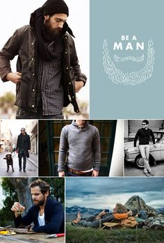 be a man man