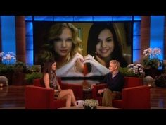 Selena Gomez da detalles de su amistad con Taylor Swift en The Ellen DeGeneres Show