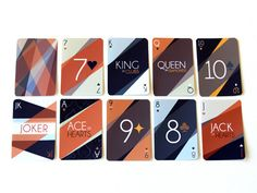 art deco playing cards by rachel groves on dribbble for an update to your poker night