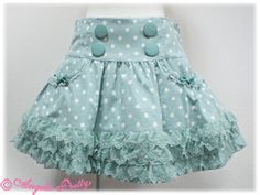 Angelic Pretty Children's Skirt ... So cute! Now I just need to learn how to make it!