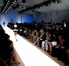 Front Row Seat for Lloyd Klein's Fashion Shows through this link