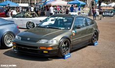 Honda CRX... Classic.  This car made me want a CRX for years