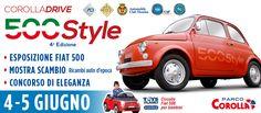 Corolla Drive - 500 Style - Eventi Parco Corolla