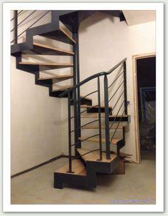 Escalier hélicoïdal - ferronnerie AG METAL 35