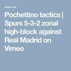 "This is ""Pochettino tactics Football Analysis, Real Madrid"