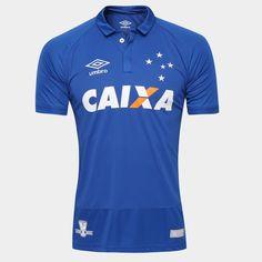 Camisa Umbro Cruzeiro I 2016 s/nº Azul | Netshoes