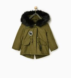 Image 5 of Patch parka from Zara