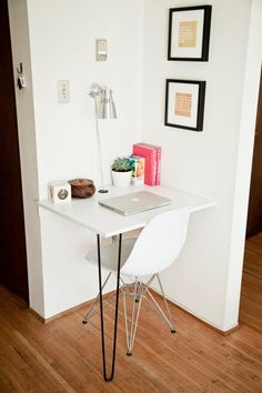 This corner desk would be great in a kids bedroom or in some rando unused corner
