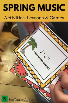 This spring music activities bundle is perfect for Spring music lesson plans! The music education games are fun for upper elementary music and middle school music students. Perfect for kids in beginning band, choir and orchestra too! Drum Lessons, Singing Lessons, Singing Tips, Piano Lessons, Music Lessons, Learn Singing, Music Theory Games, Music Education Games, Music Activities