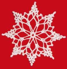 Click the banners below for more of our most popular holiday patterns, available via mail or download!    LACY SNOWFLAKE CHRISTMAS ORNAMENT FP289 Easy Skill