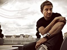 Jeremy Renner  Has the most beautiful eyes