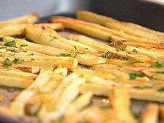 """Garlic """"Fries"""" recipe from Ellie Krieger via Food Network"""