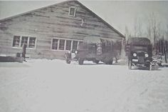 CCC camp Rabideau garage F-708 BlackDuck MN