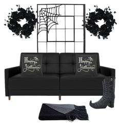 """""""Geen titel #270"""" by soukiiz ❤ liked on Polyvore featuring interior, interiors, interior design, home, home decor, interior decorating, Rizzy Home and a&R"""