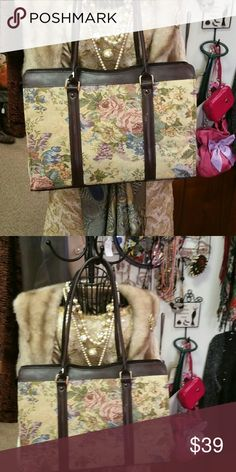 Purses Large Tapestry Bag Geoffrey Beene Bags Laptop Bags
