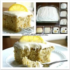 Lemon Crazy Cake - No Eggs, Milk or Butter