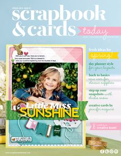 Scrapbook and cards Spring 2015 issue