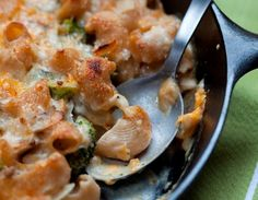 Skillet Macaroni and Broccoli and Mushrooms and Cheese: View this and hundreds of other vegetarian recipes in the @The New York Times Eat Well Recipe Finder.