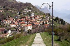 En route pour le village de Monte Brè !