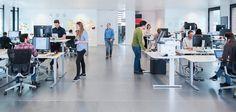 Design & Workspace Ideas - Sit stand desks