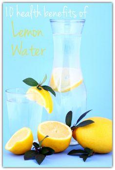 10 Health Benefits of Lemon Water