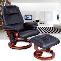 LANGRIA Massage Chassie Fauteuil Cuir Chaise Longue se Faire Masser Automatique Sofa Divan Ottoman Relaxer, Beige: Amazon.fr: Cuisine & Maison