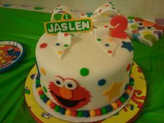 Elmo  Cake by Sandy