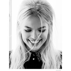 Daphne Groeneveld Wears the Spring Collections for Vogue Netherlands ❤ liked on Polyvore featuring people, models, backgrounds, girls and hair
