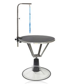 Look at this Go Pet Club Black Pet Hydraulic Round Grooming Table on #zulily today!