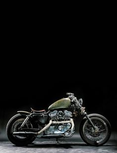 ♂ Motorcycle wheels olive green The Witch