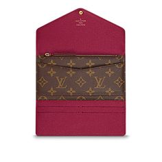 6e03a34fff13 Josephine Wallet - Monogram Canvas - Small Leather Goods