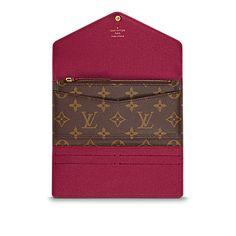 Josephine Wallet - Monogram Canvas - Small Leather Goods   LOUIS VUITTON