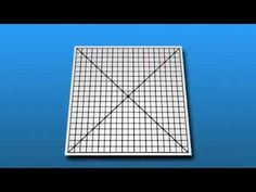 Amsler Grid - Great tool for helping to detect AMD (Age-Related Macular Degeneration) at home.