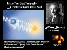 """quantum entanglement can be described as a physical interconnection among particles, despite spatial separation. Albert Einstein had termed this quantum science discovery of the 1930's  as """"Spooky action over distance""""."""