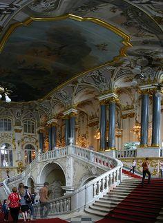 Interior del Hermitage  San Petersburgo