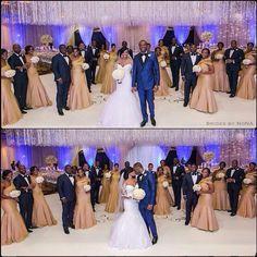 Love the bridesmaid gowns Wedding Poses, Wedding Groom, Wedding Suits, Wedding Bridesmaids, Wedding Attire, Blue Wedding, Wedding Colors, Dream Wedding, Bridesmaid Dresses