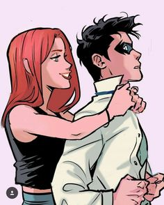 Find images and videos about robin, batgirl and barbara gordon on We Heart It - the app to get lost in what you love. Batgirl And Robin, Nightwing And Starfire, Robin Dc, Teen Titans Fanart, Teen Titans Go, Teen Titans Robin, Robin Starfire, Gabriel Picolo, Original Teen Titans