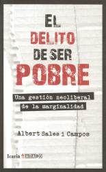 El delito de ser pobre - Albert Sales