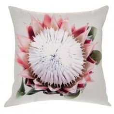 Protea Cushion Cover with Inner Pillow
