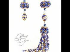 Bead Jewellery, Bead Earrings, Beaded Jewelry, Handmade Jewelry, Bee Crafts, Diy Home Crafts, Creative Crafts, Beading Projects, Beading Tutorials