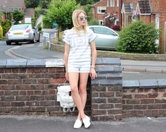 Summer Stripes Two Piece
