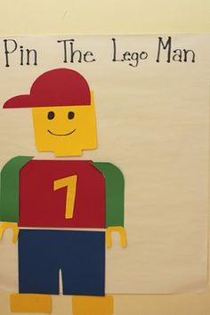 Lego Birthday Party ideas by cassie..Kahner would love this!