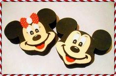 Caixas p/lembrancinha Mickey & Minnie